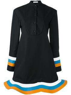 платье-рубашка с оборками по подолу J.W.Anderson