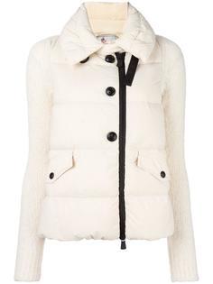 куртка на пуговицах с высоким воротом Moncler Grenoble