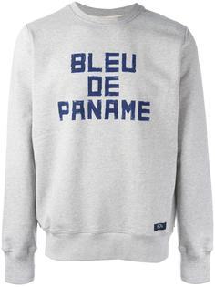 толстовка 'Sweat Chine BDP' Bleu De Paname