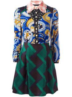 платье с узорами Coach