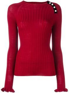 свитер с жемчужными элементами Philosophy Di Lorenzo Serafini