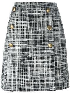 твидовая юбка Boutique Moschino