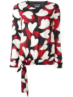блузка с узором Boutique Moschino