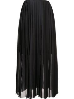 pleated maxi skirt Fabiana Filippi