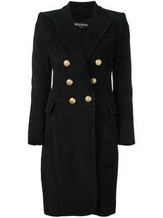 пальто с заостренными лацканами Balmain