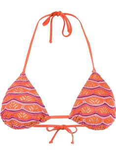 triangle knit bikini top Cecilia Prado