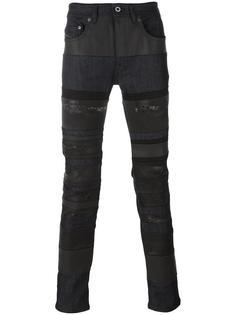 джинсы с полосатым принтом Diesel Black Gold