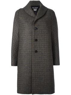 пальто в клетку на пуговицах Junya Watanabe Comme Des Garçons