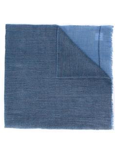 шарф дизайна колор-блок Yohji Yamamoto