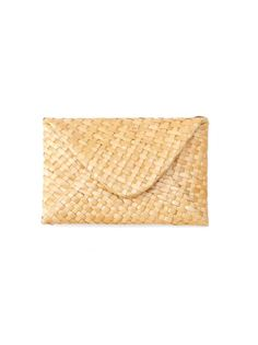 straw wallet Serpui