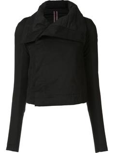 wide collar fitted jacket Rick Owens DRKSHDW