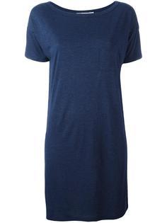 boat neck T-shirt dress T By Alexander Wang