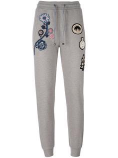 спортивные брюки с вышивкой Mr & Mrs Italy
