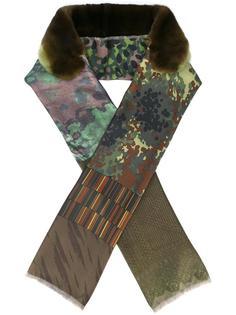 камуфляжный шарф Pierre-Louis Mascia