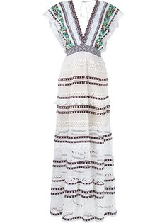 knit maxi dress Cecilia Prado