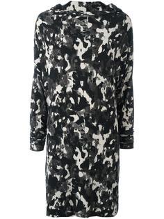 camouflage print dress Norma Kamali