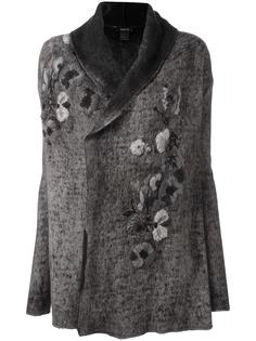 floral embroidery coat Avant Toi