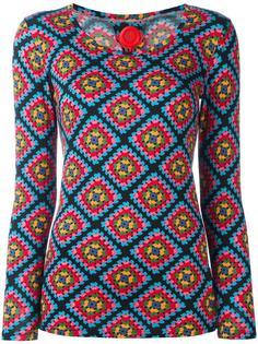 свитер с принтом Ultràchic