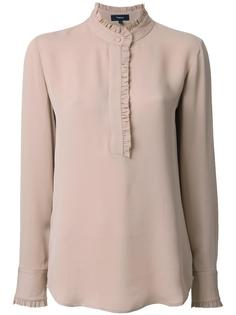 блузка с воротником-хенли Theory