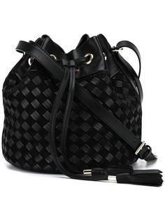 плетеная сумка-мешок Balmain