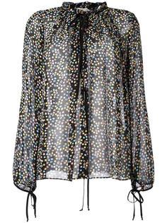 прозрачная блузка с цветочным принтом Dorothee Schumacher