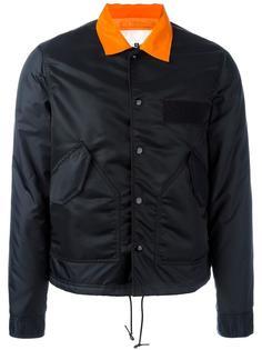 куртка с контрастным воротником Ganryu Comme Des Garcons