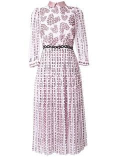платье-рубашка с цветочным принтом   Giamba