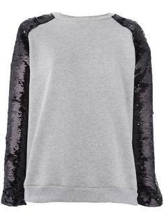 sequined sleeves sweatshirt Giamba