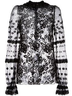 кружевная блузка Giamba