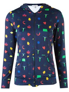 printed jacket Isolda
