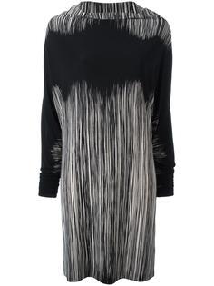 striped shift dress Norma Kamali