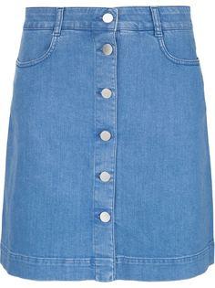 джинсовая юбка А-силуэта Stella McCartney