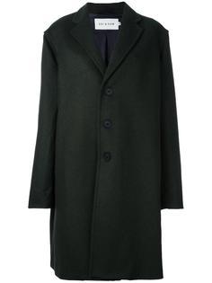 buttoned mid-length coat Agi & Sam
