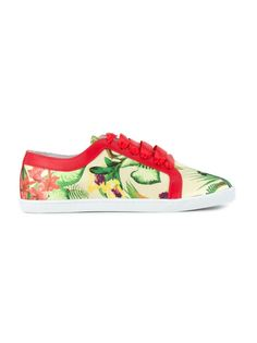 round toe printed sneakers Isolda