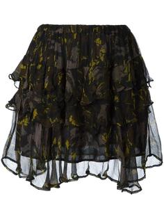 многослойная юбка Iro