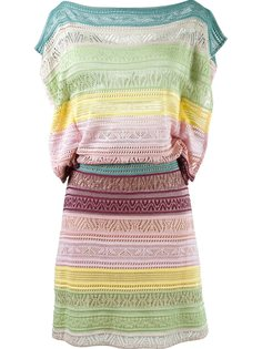 striped knit dress Cecilia Prado