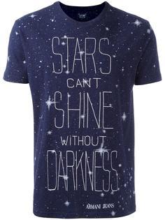футболка с принтом 'stars'  Armani Jeans