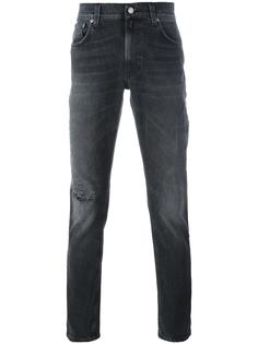 джинсы кроя слим Nudie Jeans Co