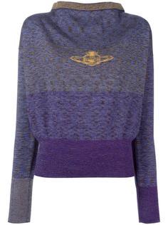 свитер свободного кроя с вырезом-лодочкой Vivienne Westwood Red Label