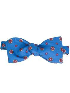 circle print bow tie Simeone Napoli