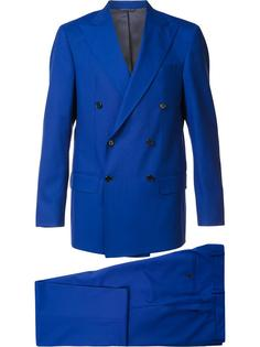 double breasted two-piece suit Simeone Napoli