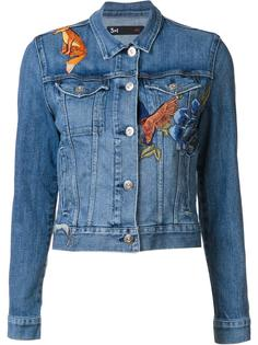 'fox' patches jacket 3X1
