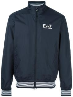 front pockets zipped jacket Ea7 Emporio Armani