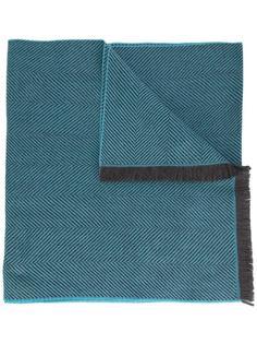 шарф с узором в елочку Simeone Napoli