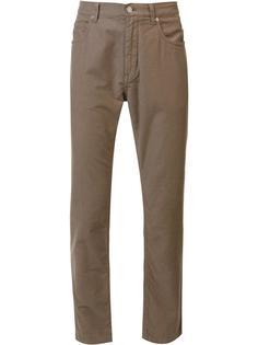 классические узкие брюки чинос Helmut Lang
