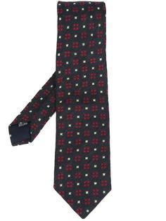 square corners patterned tie Simeone Napoli
