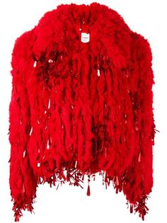 short fur jacket  Ashish