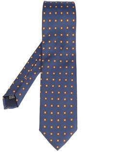 small squares printed tie Simeone Napoli