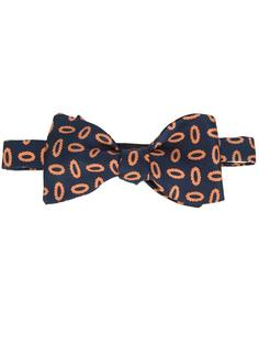oval print bow tie Simeone Napoli