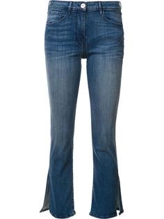 cropped slit flared jeans 3X1